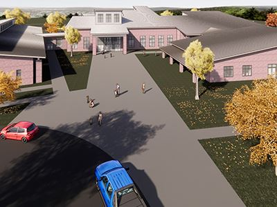 Woods Creek Elementary rendering