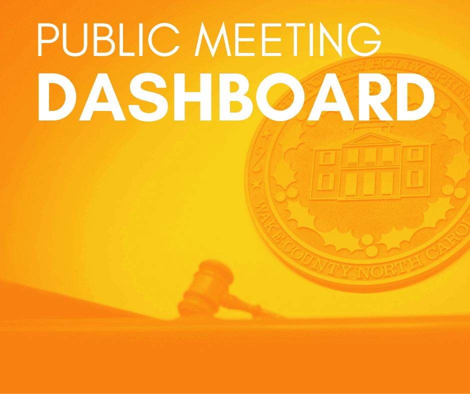 Public Meetings Dashboard